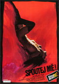 """Movie Posters:Foreign, Tie Me Up! Tie Me Down! (Lucernafilm, 1991). Czech Poster (22.75"""" X32.5""""). Foreign.. ..."""