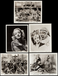 """Marlene Dietrich in Kismet (MGM, 1944). Portrait and Scene Photos (5) (8"""" X 10""""). Miscellaneous. ... (Total: 5..."""
