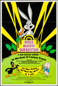"""Movie Posters:Animation, Bugs Bunny Superstar (Warner Brothers, 1976). One Sheet (24.75"""" X36.25"""") and Photos (2) (8"""" X 10""""). Animation.. ... (Total: 3 Items)"""