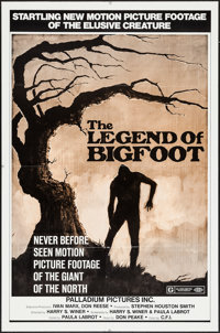 """The Legend of Bigfoot & Other Lot (Palladium, 1976). One Sheets (2) (27"""" X 41""""). Documentary. ... (Tot..."""