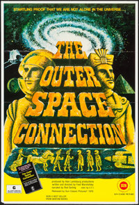 "The Outer Space Connection (Sun Classic, 1975). One Sheet (27"" X 41"") Photos (2) (8"" X 10""), Mini Lo..."