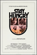 "Movie Posters:Comedy, Stay Hungry (United Artists, 1976). One Sheets (2) (27"" X 41"") and Mini Lobby Cards (2) (8"" X 10""). Comedy.. ... (Total: 4 Items)"