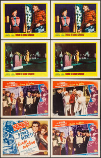 """Escape to Glory & Others (Columbia, 1940). Title Lobby Card & Lobby Cards (15) (11"""" X 14""""). Dr..."""