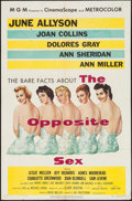 """Movie Posters:Drama, The Opposite Sex (MGM, 1956). One Sheet (27"""" X 41"""") & LobbyCard Set of 8 (11"""" X 14""""). Drama.. ... (Total: 9 Items)"""