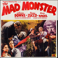 """The Mad Monster (PRC, 1942). Six Sheet (77"""" X 79""""). Horror"""