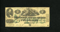 Confederate Notes:1862 Issues, T43 $2 1862. A small repaired tear is noticed on this $2 thatotherwise has lightly handled edges. Very Good-Fine...