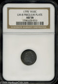 Early Half Dimes: , 1795 AU58 NGC. LM-8 Price/LM ...