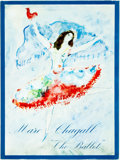 Books:Art & Architecture, Jacques Lassaigne. ORIGINAL LITHOGRAPH. Marc Chagall: Drawings and Water Colors for The Ballet. New York: Tudor Publ...