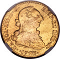 Mexico, Mexico: Charles III gold 2 Escudos 1773 Mo-FM VF Details (Removedfrom Jewelry) NGC,...