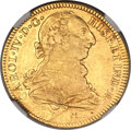 Mexico, Mexico: Charles IV gold 4 Escudos 1790 Mo-FM VF Details (ObverseScratched) NGC,...