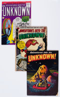 Golden Age (1938-1955):Horror, Adventures Into The Unknown Group of 4 (ACG, 1949-60).... (Total: 4 Comic Books)