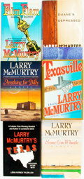 Books:Americana & American History, Larry McMurtry. Group of Six First Editions. Various publishers anddates. ... (Total: 6 Items)
