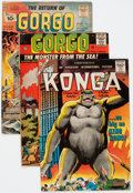 Silver Age (1956-1969):Science Fiction, Gorgo/Konga Related Group of 26 (Charlton, 1960-64) Condition: Average GD/VG.... (Total: 26 Comic Books)