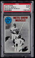 Baseball Cards:Singles (1970-Now), 1970 Topps NLCS Game 2 #196 PSA Mint 9....