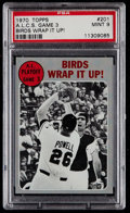Baseball Cards:Singles (1970-Now), 1970 Topps ALCS Game 3 #201 PSA Mint 9....