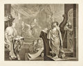 Books:Prints & Leaves, [William Hogarth]. Engraved Print after a Painting by HogarthEntitled, Paul Before Felix. [N.p., n.d., circa 1822]....