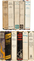 Books:Mystery & Detective Fiction, William Le Queux. Lot of Eleven First Edition Crime Novels in DustJackets. ... (Total: 11 Items)