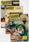 Golden Age (1938-1955):Classics Illustrated, Classics Illustrated First Editions Group of 6 (Gilberton, 1947-48)Condition: Average VG/FN.... (Total: 6 Comic Books)