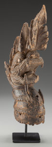 Tribal Art, Sculpture, Naga, Southeast Asia...