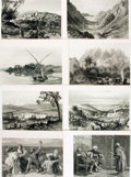 Books:Prints & Leaves, [Palestine]. Group of Forty-One Plates Taken from PicturesquePalestine, Sinai and Egypt. [New York: D. Appleton...