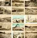 Books:Prints & Leaves, [U. S. Geological Survey]. Group of Thirty-One Tinted Plates fromthe U. S. Geological Survey. [n.d., circa 1900]. ...