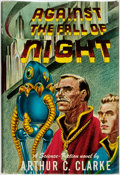 Books:Science Fiction & Fantasy, Arthur C. Clarke. Against the Fall of Night. Gnome Press, [1953]. ...