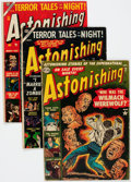 Golden Age (1938-1955):Horror, Astonishing Group of 7 (Atlas, 1952-57) Condition: Average GD....(Total: 7 Comic Books)