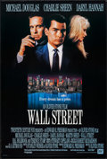 "Movie Posters:Crime, Wall Street & Other Lot (20th Century Fox, 1987). One Sheets(2) (26.75"" X 39.75"" & 27"" X 41""). Crime.. ... (Total: 2 Items)"