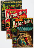 Golden Age (1938-1955):Horror, Astonishing Group of 9 (Atlas, 1952-57) Condition: Average FR....(Total: 9 Comic Books)