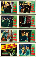 "Movie Posters:Crime, You Can't Get Away with Murder (Warner Brothers, 1939). Lobby CardSet of 8 (11"" X 14"").. ... (Total: 8 Items)"