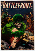 Golden Age (1938-1955):War, Battlefront #15 (Atlas, 1954) Condition: VG+....