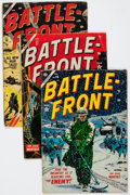 Golden Age (1938-1955):War, Battlefront Group of 6 (Atlas, 1954-55) Condition: Average GD....(Total: 6 Comic Books)