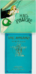 Books:Children's Books, W. S. Gilbert and Arthur Sullivan. H.M.S. Pinafore. NewYork: Franklin Watts, 1967. [together with:] The Mikado....(Total: 2 Items)