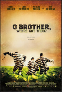 """O Brother, Where Art Thou? & Others Lot (Buena Vista, 2001). One Sheets (3) (27"""" X 40"""") DS Regular &am..."""