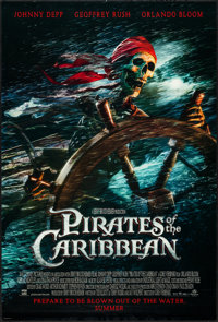 "Pirates of the Caribbean: The Curse Of The Black Pearl (Buena Vista, 2003). One Sheet (27"" X 40"") DS Advance..."
