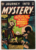 Golden Age (1938-1955):Horror, Journey Into Mystery #4 (Marvel, 1952) Condition: GD/VG....