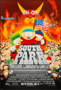 "Movie Posters:Animation, South Park: Bigger Longer & Uncut & Others Lot (Paramount, 1999). One Sheets (3) (27"" X 41"") DS Advance & Regular. Animation... (Total: 3 Items)"