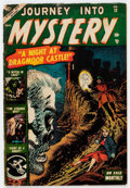 Golden Age (1938-1955):Horror, Journey Into Mystery #12 (Marvel, 1953) Condition: GD+....