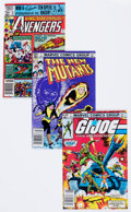 Modern Age (1980-Present):Miscellaneous, Marvel Modern Age Comics Group of 29 (Marvel, 1980-90) Condition: Average NM-.... (Total: 29 Comic Books)