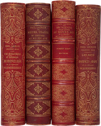 [Paul Lacroix]. Four Works on the Middle Ages and the Renaissance by Paul Lacroix [aka Le Bibliophile Jacob].<