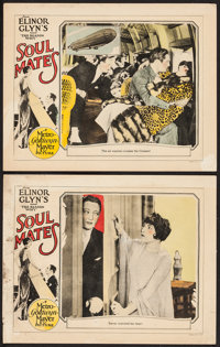 """Soul Mates (MGM, 1925). Lobby Cards (2) (11"""" X 14""""). Drama. ... (Total: 2 Items)"""