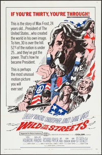 "Wild in the Streets (American International, 1968). One Sheet (27"" X 41""). Exploitation"