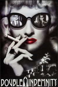 "Double Indemnity (Zoetrope Galleries, 2014). Signed Limited Edition Poster (24"" X 36""). Film Noir"