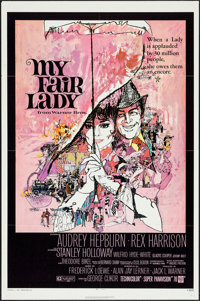 """My Fair Lady (Warner Brothers, R-1971). One Sheet (27"""" X 41""""). Musical"""