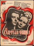 "Movie Posters:Foreign, The Charterhouse of Parma (DisCina, 1948). Mexican Poster (27.5"" X 37.25""). Foreign.. ..."