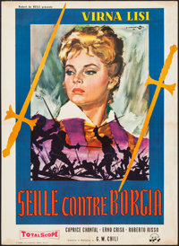 """Caterina Sforza, the Lioness of Romagna (Regionale, 1959). French Affiche (22.75"""" X 31.5""""). Foreign"""