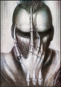 Future-Kill by H.R. Giger (International Film Marketing, 1985). Autographed and Numbered Limited Edition Lithograph Post...