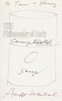 Andy Warhol. The Philosophy of Andy Warhol (From A to B and Back Again). New York an