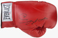 Boxing Collectibles:Autographs, Sugar Ray Leonard Signed Boxing Glove....