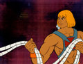 Animation Art:Production Cel, He-Man and the Masters of the Universe Production Cel andAnimation Drawing Group (Filmation, 1984).... (Total: 4 Items)